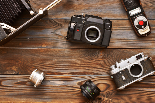 Common Types of Vintage Cameras