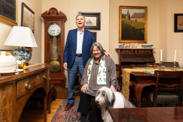 As they prepare to downsize, William and Mary-Claire Barton say that weeding out the antiques in their Upper West Side apartment has been a painful process.