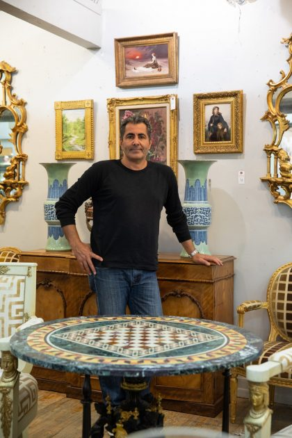 Amos Balaish, the owner of the Showplace Antique + Design Center, said he unfortunately has to frequently tell antique owners that their treasures aren't worth as much as they hoped.